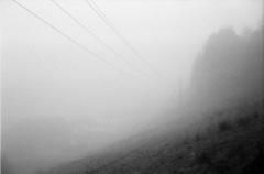 Autumn Morning Fog. Camera: Nikon FE2. Film: Rollei Infrared 400. Developer: Rodinal. Location: Breitenau am Hochlantsch/Austria.
