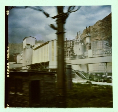 Industrial Post-Apocalypse. Camera: Holga 120. Film: Kodak 160NC.