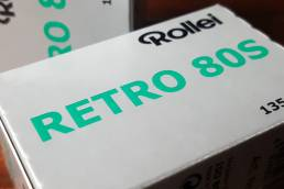 Rollei Retro 80S Black and White Film