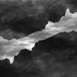 Dark Lake, Deep Woods: Nikon F100, Rollei RPX 25, AM74